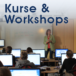 Kurse und Workshops im Computerzentrum